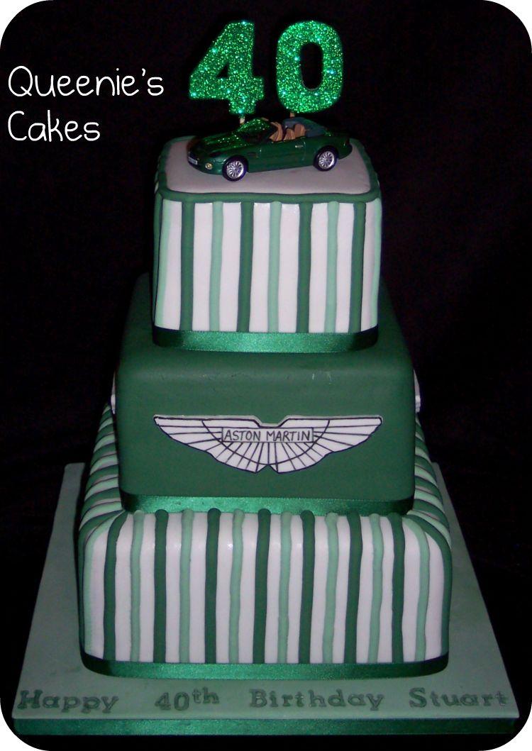 Aston Martin Queenie S Cakes