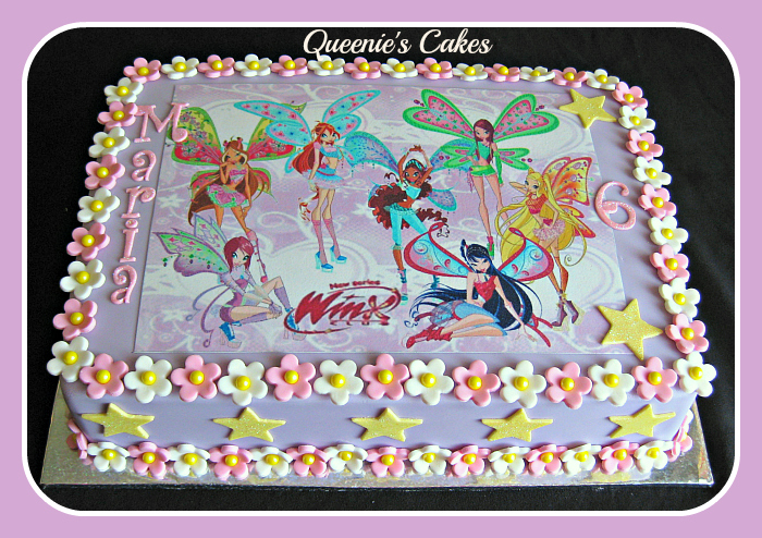 Winx Club Flowers & Stars - Queenie's Cakes