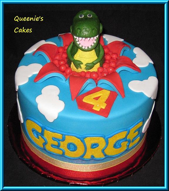 Rex Toy Story Queenie S Cakes