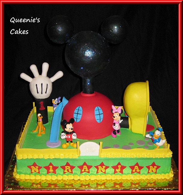 Mickey Mouse Clubhouse Queenie S Cakes