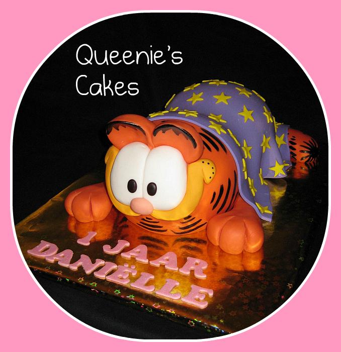 3d Garfield Queenie S Cakes