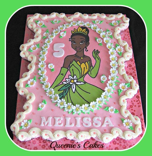 Princess Tiana Ccc 2 Queenie S Cakes